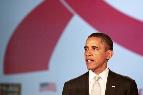 Obama AIDS care