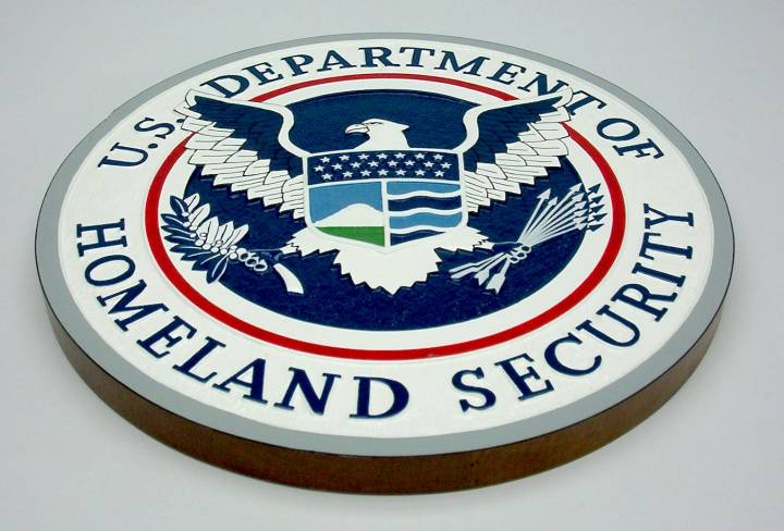 Department of Homeland Secuirty Logo